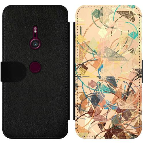 Sony Xperia XZ3 Wallet Slimcase Colourful Expectations