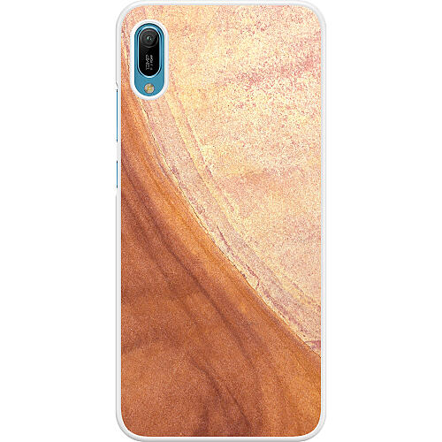 Huawei Y6 (2019) Hard Case (White) Microscopic Prospect