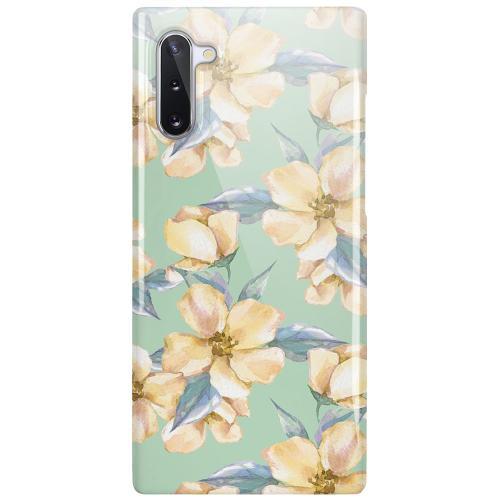 Samsung Galaxy Note 10 LUX Mobilskal (Glansig) Waterproof Flowers