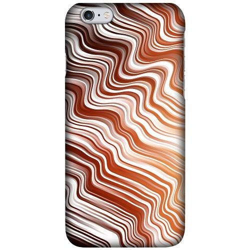 Apple iPhone 6 Plus / 6s Plus LUX Mobilskal (Matt) Distorted Soundwaves