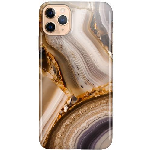 Apple iPhone 11 Pro Max LUX Mobilskal (Glansig) Amber Agate