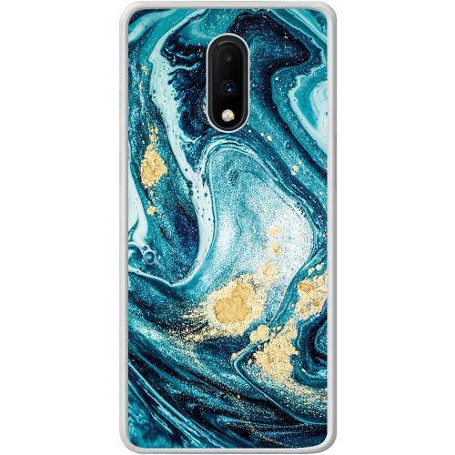 OnePlus 7 Mobilskal Golden Lavation