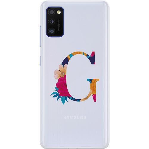Samsung Galaxy A41 Thin Case Bokstaven - G