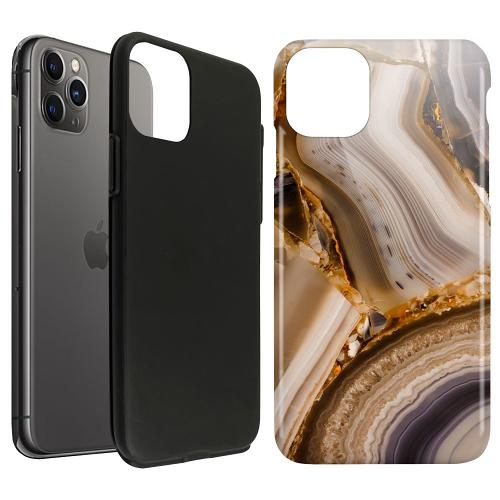 Apple iPhone 11 Pro Max LUX Duo Case Amber Agate