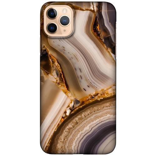 Apple iPhone 11 Pro Max LUX Mobilskal (Matt) Amber Agate