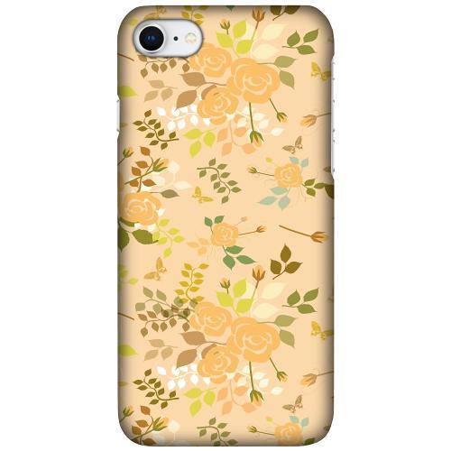 Apple iPhone SE (2020) LUX Mobilskal (Matt) Flowery Tapestry