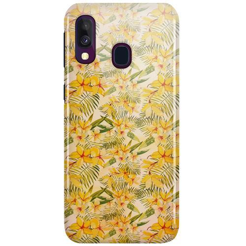 Samsung Galaxy A40 LUX Mobilskal (Glansig) Simple Serenity