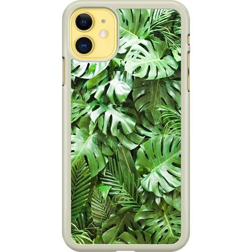 Apple iPhone 11 Hard Case (Transparent) Green Conditions