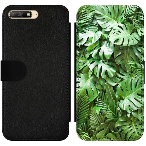 Huawei Y6 (2018) Wallet Slimcase Green Conditions