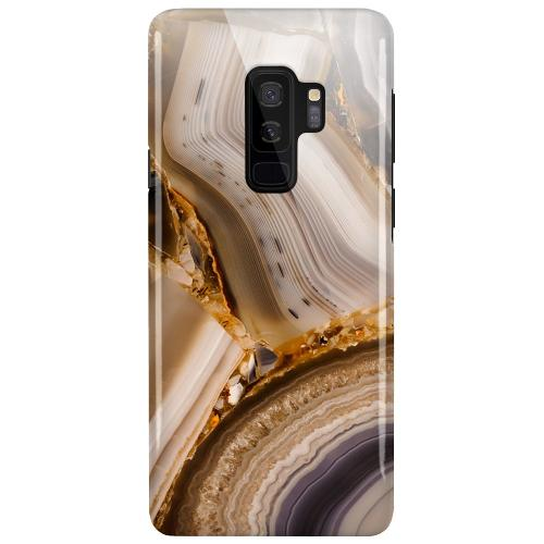 Samsung Galaxy S9+ LUX Mobilskal (Glansig) Amber Agate