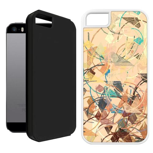 Apple iPhone 5 / 5s / SE Duo Case Svart Colourful Expectations
