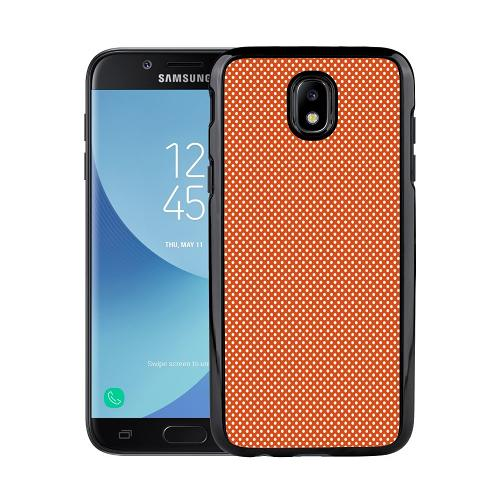 Samsung Galaxy J3 (2017) Mobilskal Orange Droplets