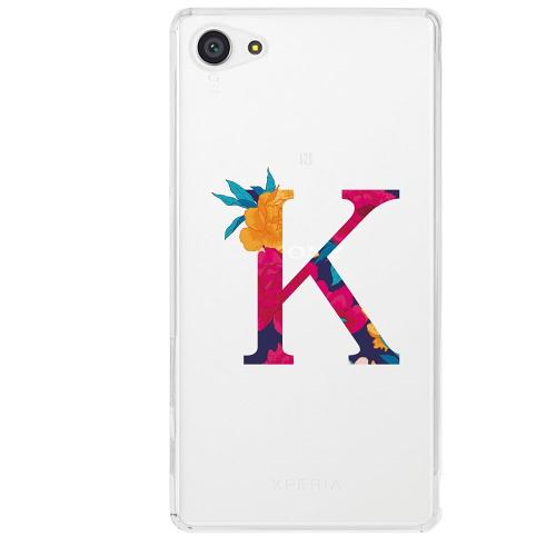 Sony Xperia Z5 Compact Firm Case Bokstaven - K