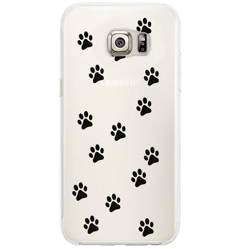 Samsung Galaxy S6 Edge Firm Case Paws