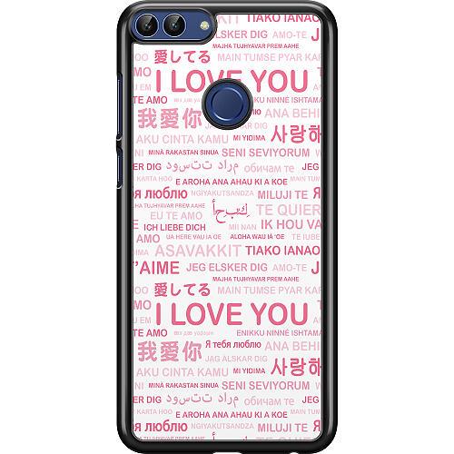 Huawei P Smart (2018) Hard Case (Black) International Love