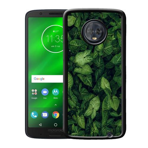 Motorola Moto G6 Plus Mobilskal Green as Grace