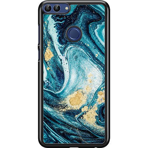 Huawei P Smart (2018) Hard Case (Black) Golden Lavation