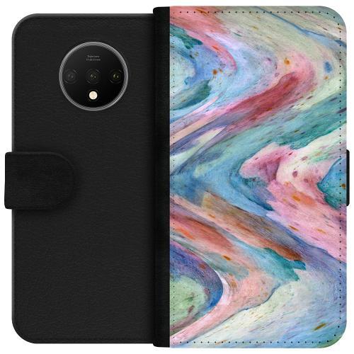 OnePlus 7T Plånboksfodral Warped Existence
