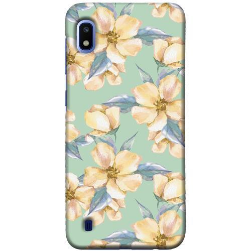 Samsung Galaxy A10 LUX Mobilskal Waterproof Flowers