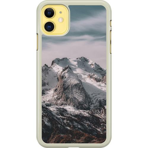 Apple iPhone 11 Hard Case (Transparent) Highest of Mountains