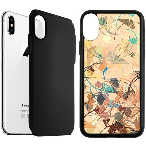 Apple iPhone XS Max Duo Case Svart Colourful Expectations