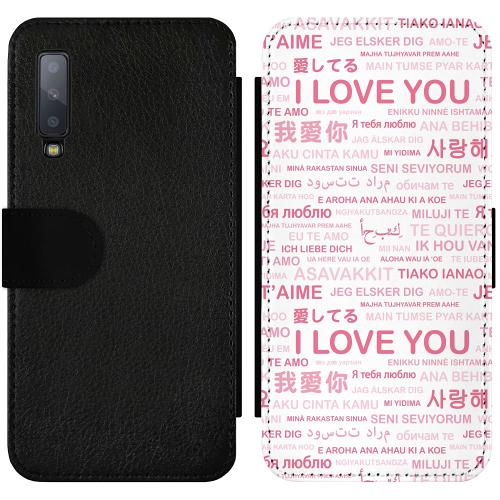 Samsung Galaxy A7 (2018) Wallet Slimcase International Love