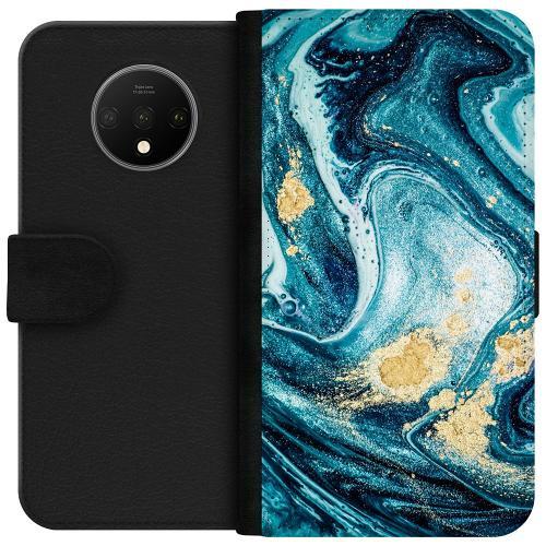 OnePlus 7T Plånboksfodral Golden Lavation