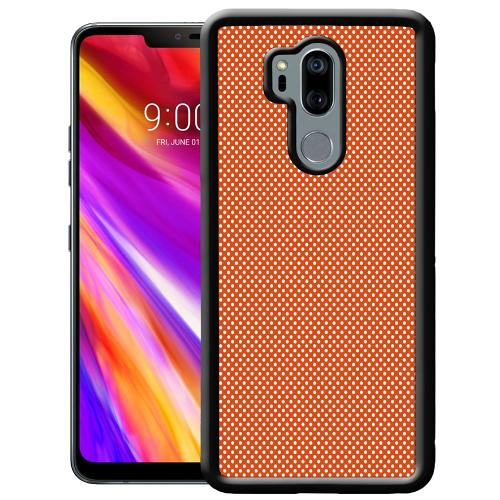 LG G7 ThinQ Mobilskal Orange Droplets