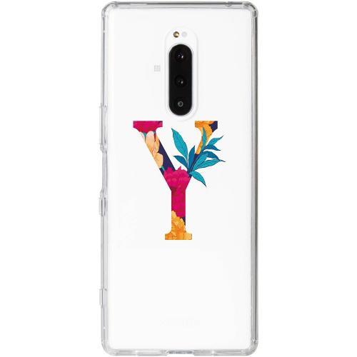 Sony Xperia 1 Thin Case Bokstaven - Y