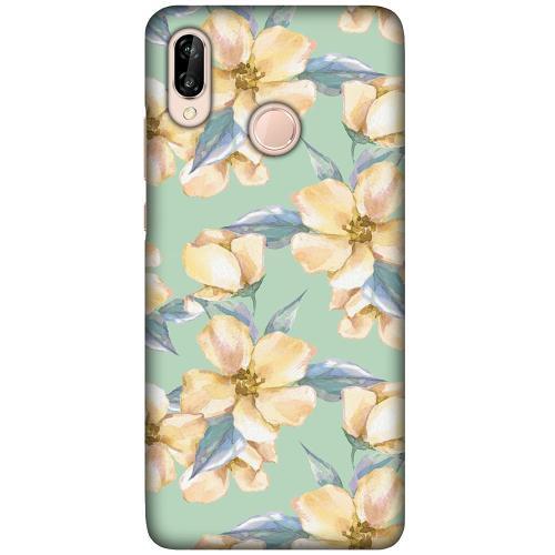 Huawei P20 Lite LUX Mobilskal (Matt) Waterproof Flowers