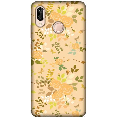 Huawei P20 Lite LUX Mobilskal (Matt) Flowery Tapestry