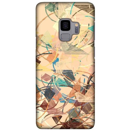 Samsung Galaxy S9 LUX Mobilskal (Matt) Colourful Expectations
