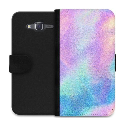 Samsung Galaxy J5 Plånboksfodral Frosted Lavendel