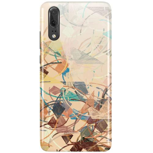 Huawei P20 LUX Mobilskal (Glansig) Colourful Expectations