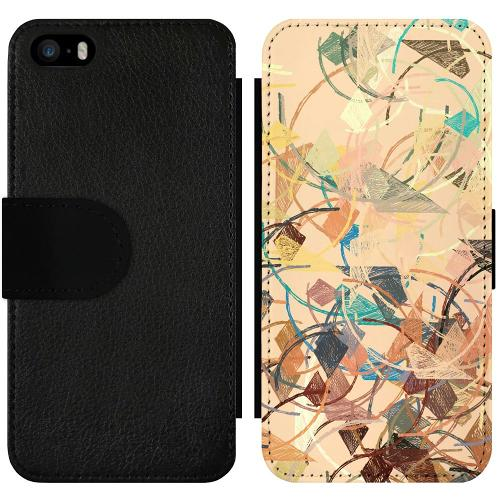 Apple iPhone 5 / 5s / SE Wallet Slimcase Colourful Expectations