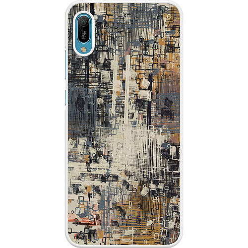 Huawei Y6 (2019) Hard Case (White) Tribute to the Crown