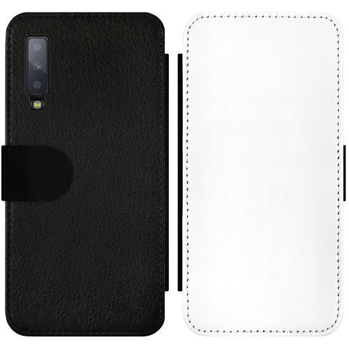 Samsung Galaxy A7 (2018) Wallet Slimcase Milk