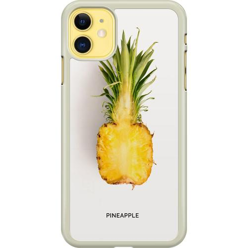 Apple iPhone 11 Hard Case (Transparent) Pineapple