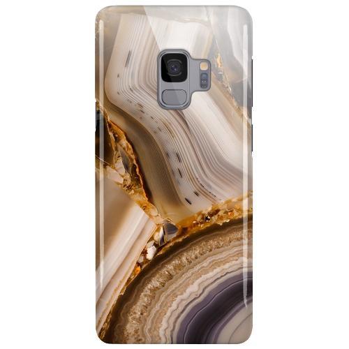 Samsung Galaxy S9 LUX Mobilskal (Glansig) Amber Agate