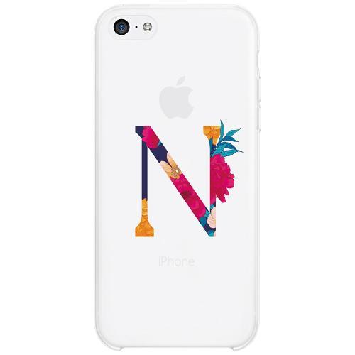 Apple iPhone 5c Firm Case Bokstaven - N