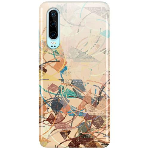 Huawei P30 LUX Mobilskal (Glansig) Colourful Expectations