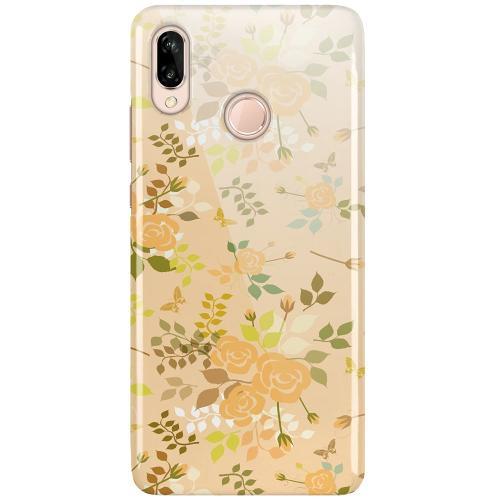 Huawei P20 Lite LUX Mobilskal (Glansig) Flowery Tapestry