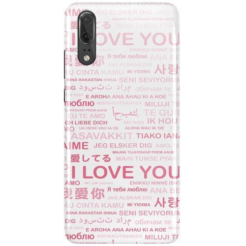 Huawei P20 LUX Mobilskal (Glansig) International Love