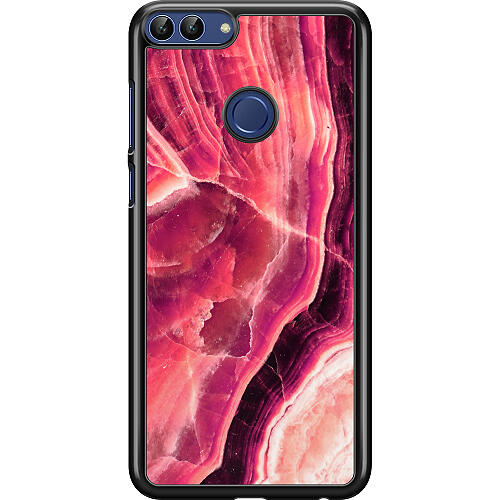 Huawei P Smart (2018) Hard Case (Black) Metamorphic Ruby