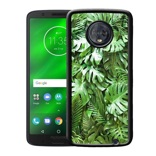 Motorola Moto G6 Plus Mobilskal Green Conditions