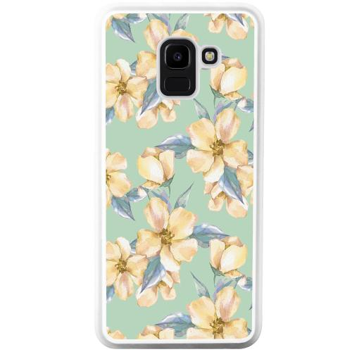 Samsung Galaxy J6 (2018) Mobilskal Waterproof Flowers