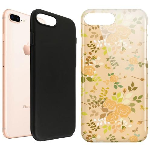Apple iPhone 8 Plus LUX Duo Case Flowery Tapestry
