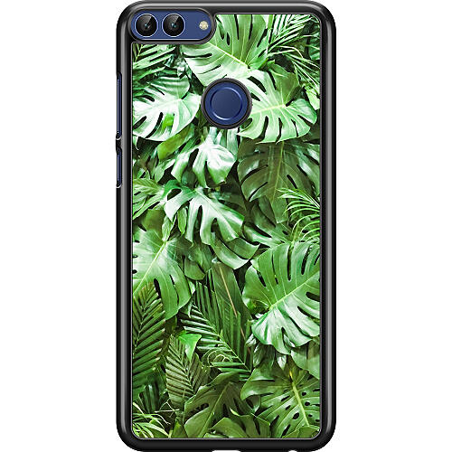 Huawei P Smart (2018) Hard Case (Black) Green Conditions
