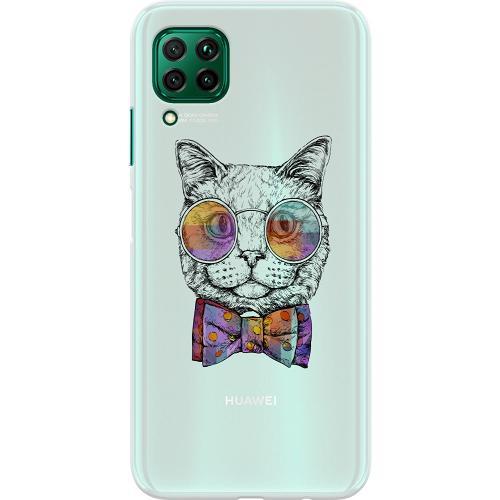 Huawei P40 Lite Thin Case Katt