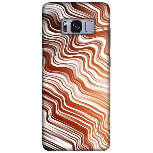 Samsung Galaxy S8 LUX Mobilskal (Matt) Distorted Soundwaves